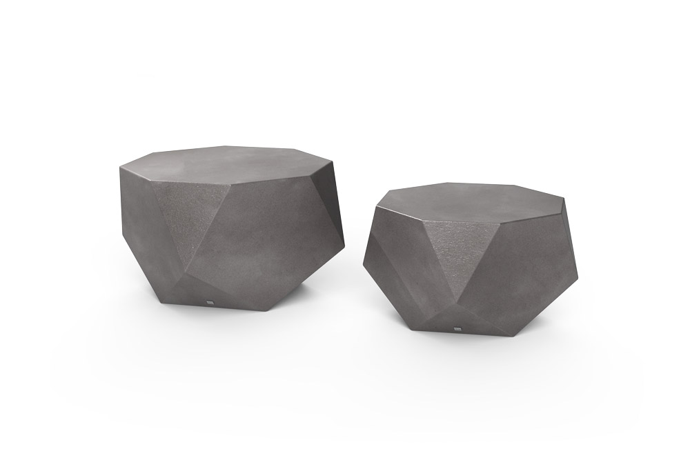 Diamond Coffee Table Aluminium Color