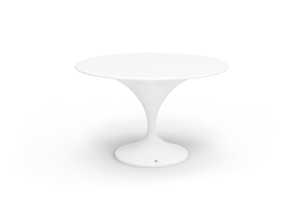 Charm Dining Table White