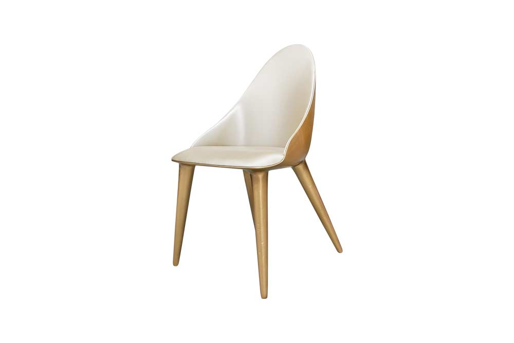 Mónaco Chair in Gold Finish