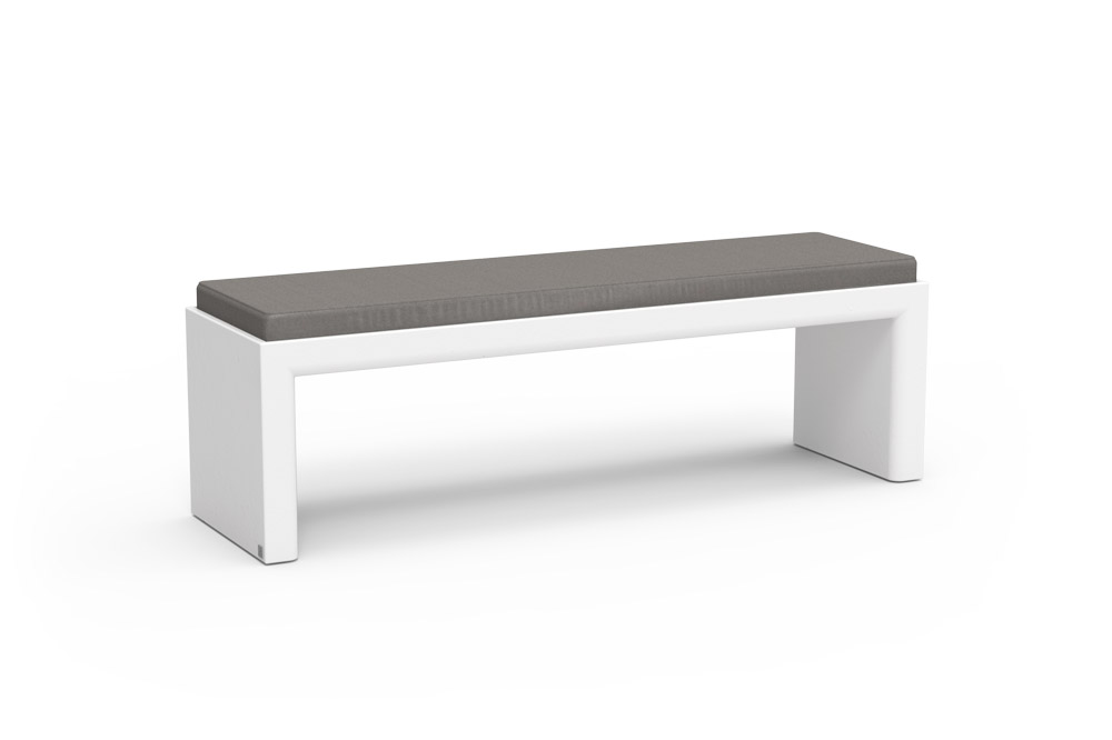 Quadra Bench for Outdoor in Stock