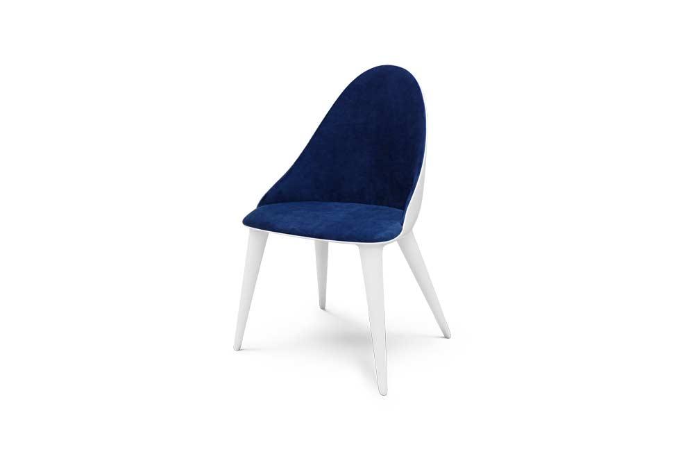 Cadeira Mónaco Lacada a Branco
