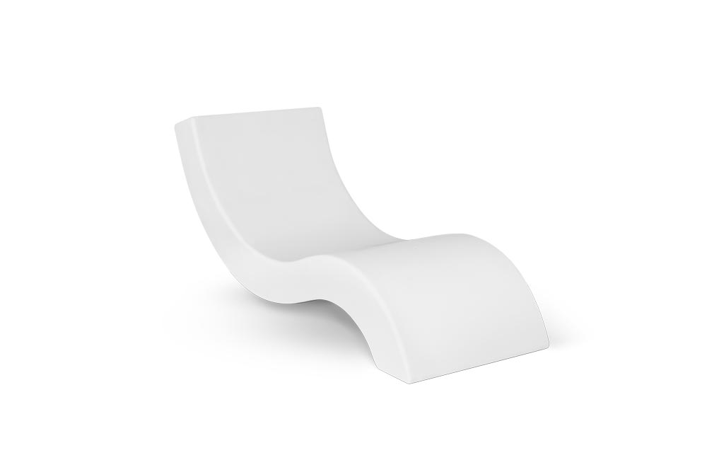 Nordic Chaise Longue for Outdoor in Stock