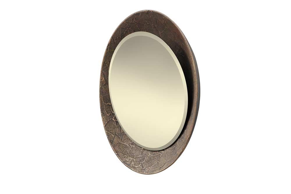 Espelho Aurora em Textura Forja