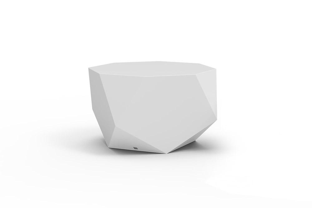 Mesa de Centro Diamond L para Exterior em Stock