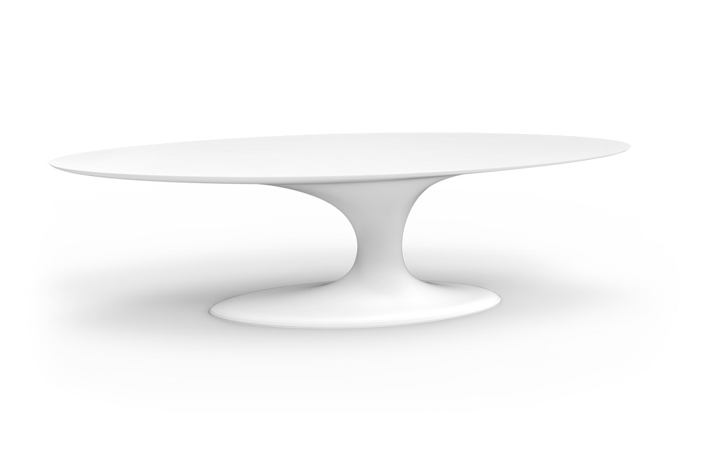 Jade Oval Dining Table for Outdoor in Stock