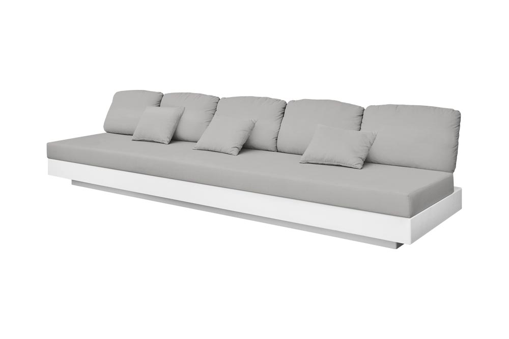 Nordic Sofa 5 Seats for Outdoor in Stock