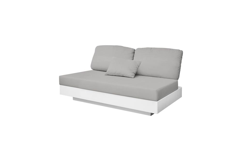 Nordic Sofa 2 Seats for Outdoor in Stock