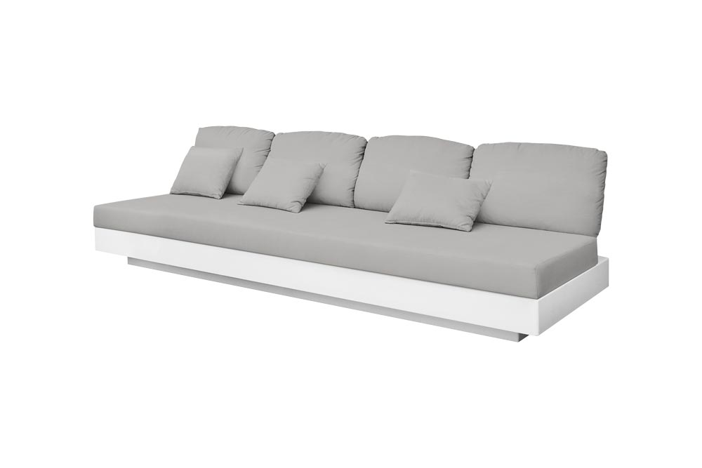 Nordic Sofa 4 Seats for Outdoor in Stock