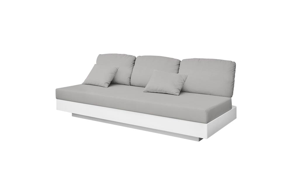 Nordic Sofa 3 Seats for Outdoor in Stock