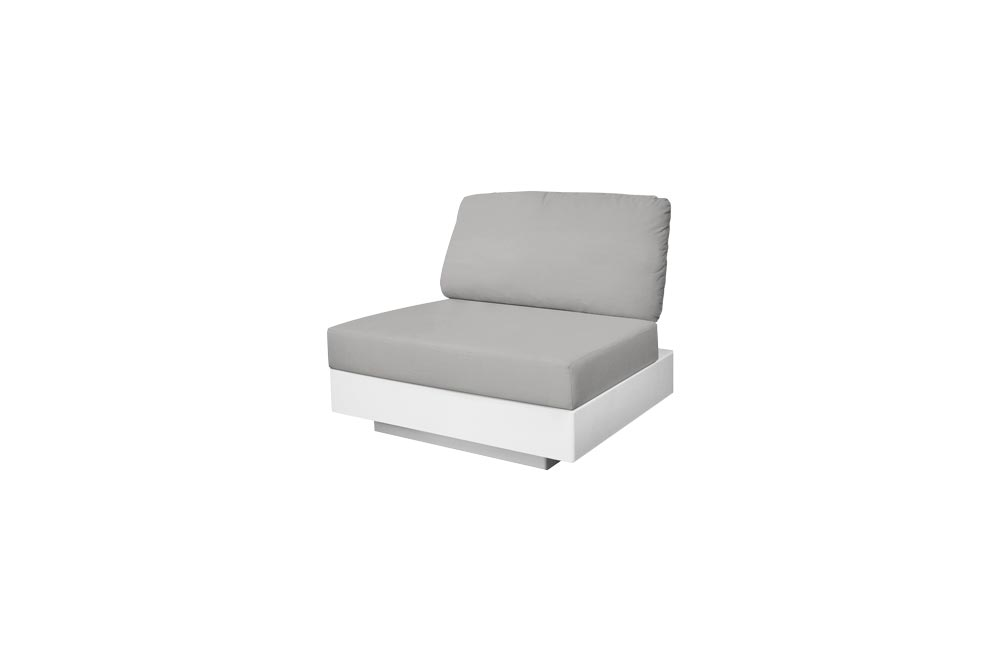 Nordic Sofa 1 Seat for Outdoor in Stock