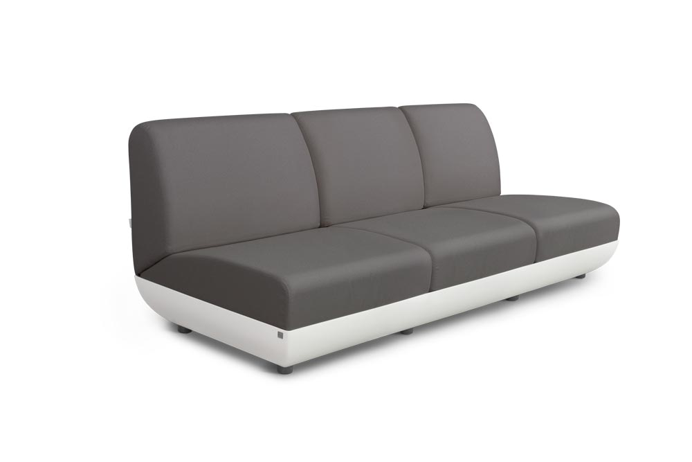 Victoria Sofa 3 Seats for Outdoor in Stock