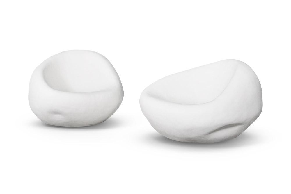 Sofá Cobble em Branco